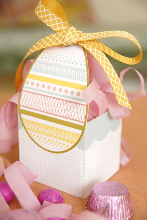 Пасхальная коробочка для подарка